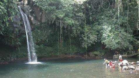 air terjun lematang indah  pagar alam sumsel pesona