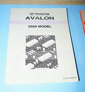 2003 Toyota Avalon Oem Evtm Electrical Wiring Diagram