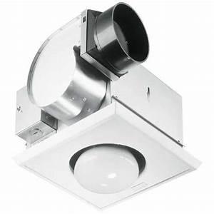 Bathroom Fan With Heat Lamp