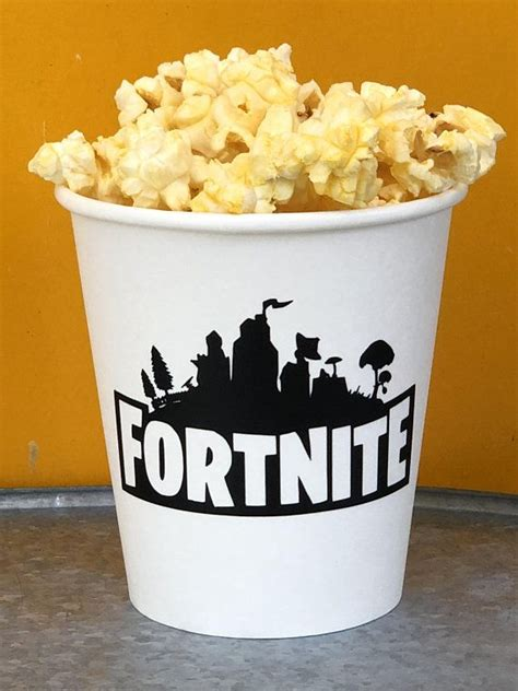 fortnite party fortnite snack cups fortnite party favors