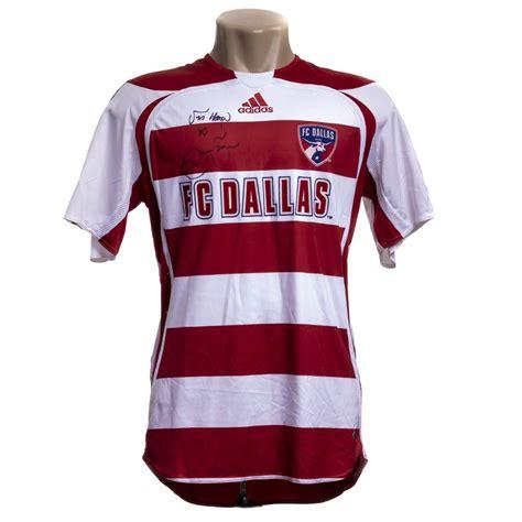 Camisa FC Dallas 2007 autografada Denílson – Hall da Fama