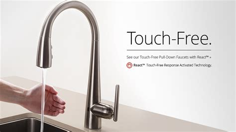 touch activated kitchen faucet touch activated kitchen faucets ppi