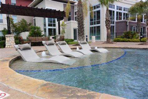 ledge lounger in pool chaise white pool supply unlimited