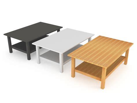 ikea solid wood coffee table solid ikea coffee table 3d model