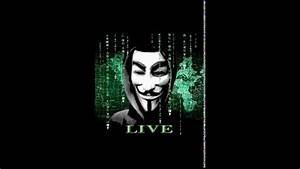 Anonymous Parallax Live Wallpaper - YouTube