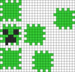 Minecraft 3D Perler Bead Patterns