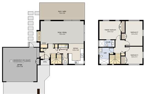 zen cube  bedroom garage house plans  zealand