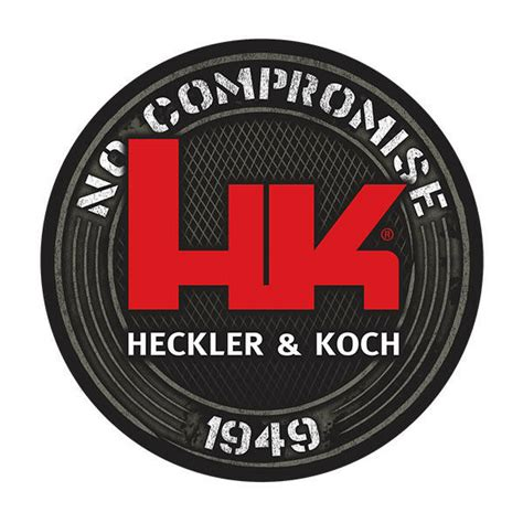 hk black decal  heckler koch  compromise hk