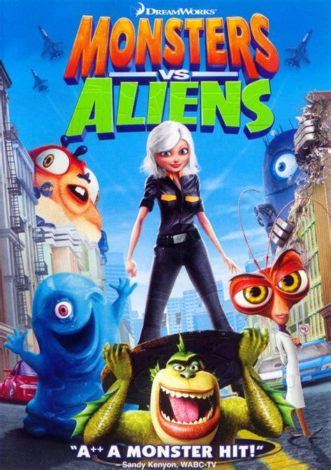 monsters  aliens dvd cover