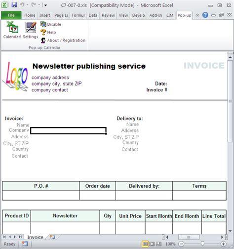 freeware  pastel invoice template