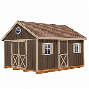 best barns easton 12 ft x 16 ft wood storage shed kit With best storage sheds to buy