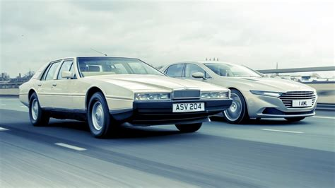 aston martin lagonda old vs new top gear