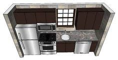what is a kitchen sink 1 wall kitchen layouts when planning a one wall kitchen 8942