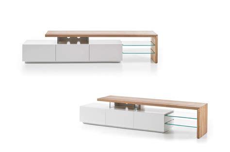Meuble En Design by Meuble Tv Design Bois Et Blanc Pour Salon