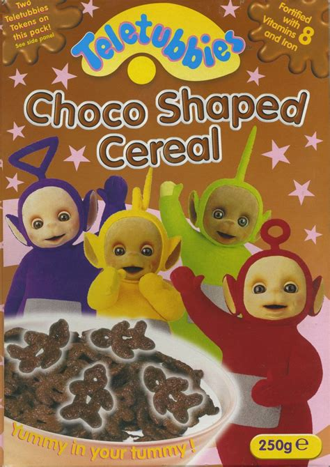 Cereal Choco teletubbies choco shaped cereal 169 2001 health care products