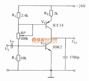 Adjustable Constant Current Source Charging Sawtooth Circuit - Signal Processing