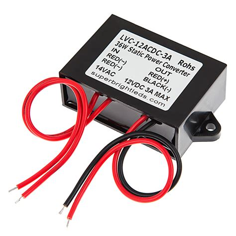 Light Landscape 12v Ac Wiring by 12v Ac To Dc Converter Module Waterproof Power Supplies
