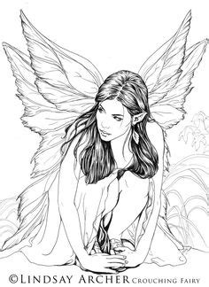 1000+ images about Fairy coloring pages on Pinterest