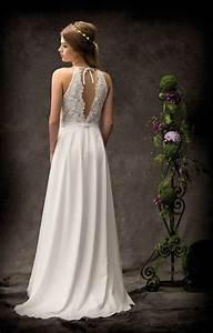 Brautkleid Vintage Schlicht : la promesse brautmode schlicht raffiniert ~ Watch28wear.com Haus und Dekorationen