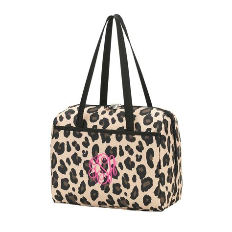 personalized leopard lunch bag gifts happen