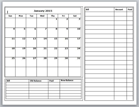 budget calendars   ive   grace