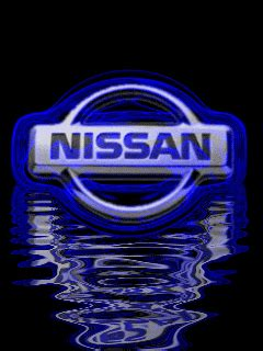 animated nissan emblem    wallpapers