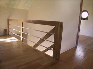 Garde Corp Escalier : mev sprl garde corps bois et inox ~ Dallasstarsshop.com Idées de Décoration