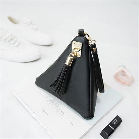 designer makeup bag 2017 designer makeup bags triangle leather cosmetic bag