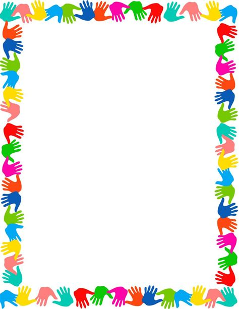 craft paper frames templates