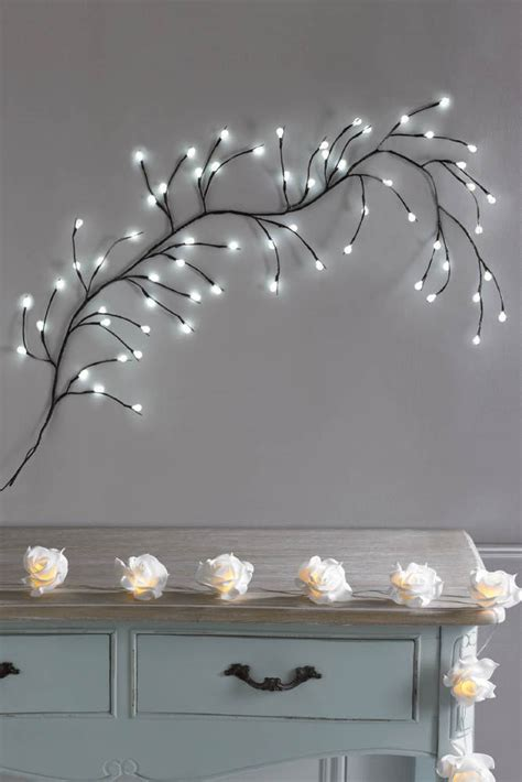 white led branch wall light wall hanging feature decoration illuminating ebay