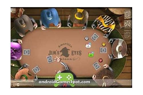 governor of poker 2 for android free download