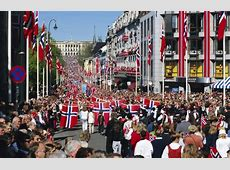 Joining the festivities on Norwegian National Day Rough