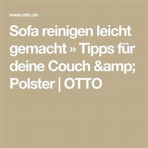 Couch Reinigen Natron : sofa reinigen tipps f r saubere polsterm bel sofa ~ A.2002-acura-tl-radio.info Haus und Dekorationen