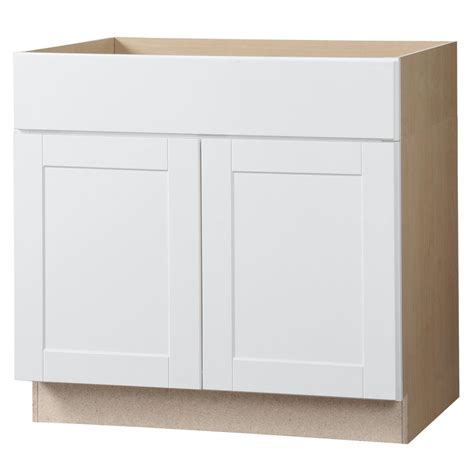 white kitchen base cabinets hton bay shaker assembled 36x34 5x24 in accessible