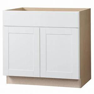 hampton bay shaker assembled 36x345x24 in accessible With home depot white kitchen cabinets 2