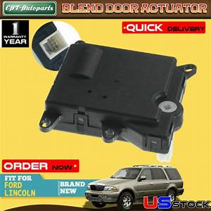 Heater Vent Blend Door Actuator For Ford F150 F250 Lincoln