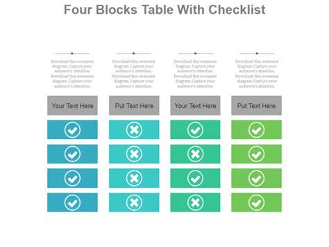 create  modern checklist diagram  powerpoint