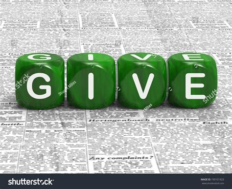 give dice meaning contribute donate  bestow stock photo