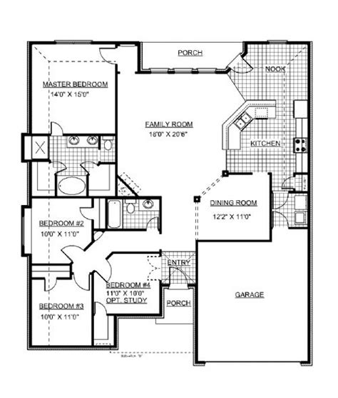 jim walters homes floor plans lockridge homes custom homes built   land house floor