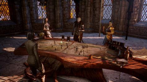 summon  war council exploring dragon age inquisition