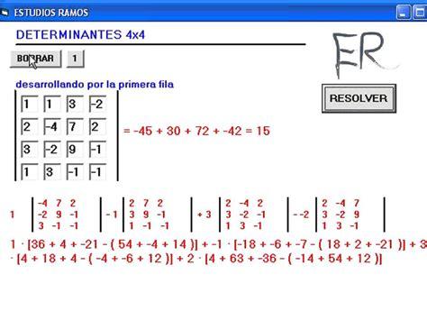 determinante berechnen    eine  determinante