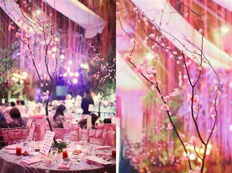 a japanese garden cherry blossom wedding glass garden