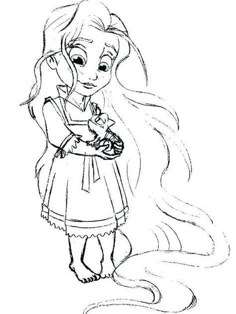 This set contains 18 disney princess coloring pages and 5 color wonder markers. Ariel And Her Sisters | Tangled coloring pages, Disney ...