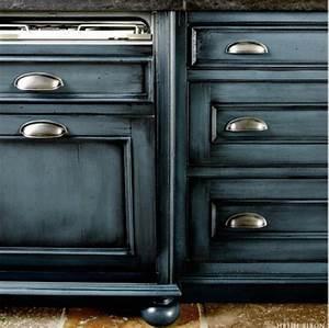 Blue Kitchen Cabinets With Glaze – Quicua com