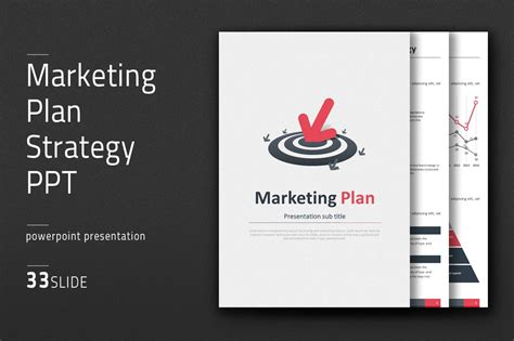 marketing plan strategy  vertical powerpoint