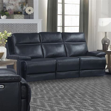 paxton navy power sofa parker house furniture