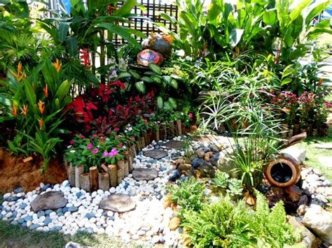 membina impian rekabentuk hiasan taman  halaman rumah  menarik  kreatif