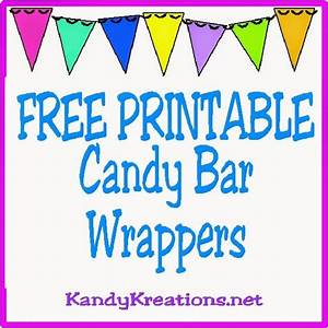 10 printable candy bar wrappers candy bar wrappers bar wrappers and bar for Free printable candy bar wrappers templates