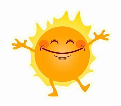 Sunshine Happy Clipart Vector Domain