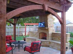 13 Fireplaces & DIY Outdoor Shade Structures Western
